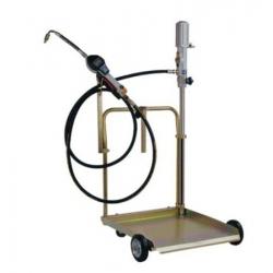 Wózek Na Beczkę 180-200L , Z Pompą 5:1, Pistoletem Elektronicznym, Przewodem 4M