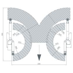 AMI Dwukolumnowy Podnośnik Hydrauliczny