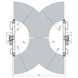 AMI Podnośnik dwukolumnowy  BUS 8,0